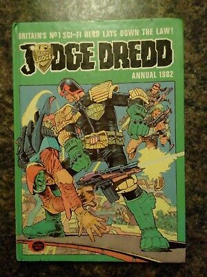 Judge Dredd Annual 1982 - hardback, good condition