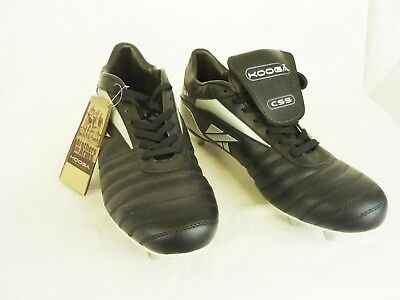 New With Tags, Kooga Cs5 Rugby Boots, Black, Uk 15, Eu 51                   #st#