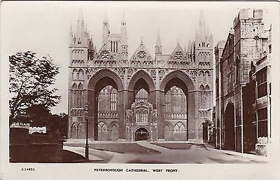 West Front Of The Cathedral, PETERBOROUGH, Cambridgeshire RP