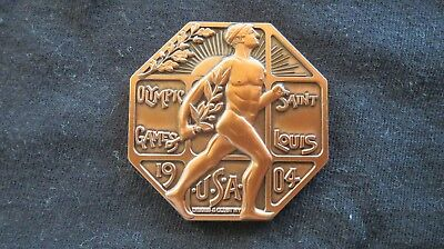 RARE 1904 St Louis Summer Olympic Games Commemorative Participation Medal Coin