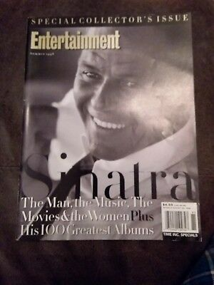 Entertainment Weekly Frank Sinatra Special Collector's Issue Rare Pics