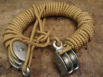 New Rope Block and Tackle