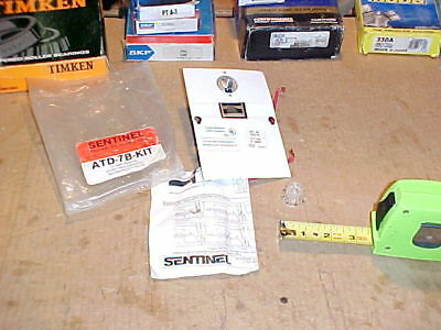 1) *NEW* SENTINEL, ATD-7B-Kit, Electric Baseboard Thermostat. 17A, Double Pole.