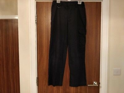 boys or  girls official scout trousers navy blue age 13 years
