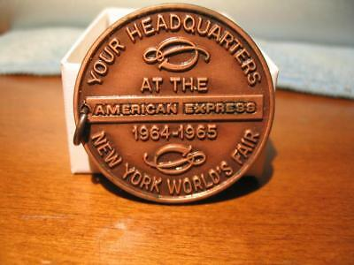 1965 New York World's Fair American Express Exchequer Club Medal