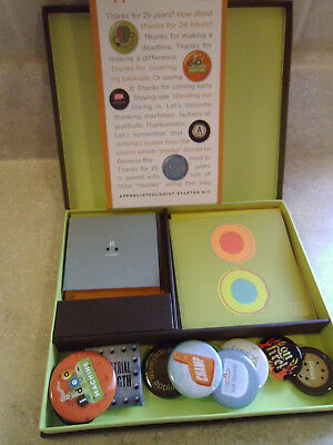O.C. Tanner Appreciateology The Appreciateologist Starter Kit w/ Cards, Buttons