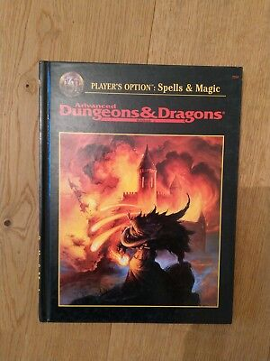 AD&D Advanced Dungeons & Dragons 2nd Edition Player's Option: Spell & Magic