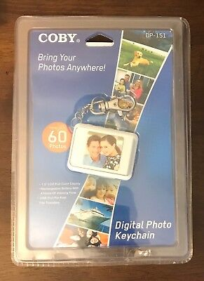 Coby Brand Digital Photo Keychain - New In Package - Great Stocking Stuffer!