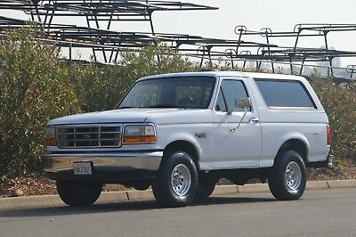 1996 Ford Bronco SHOWROOM CONDITION - Clean California Title
