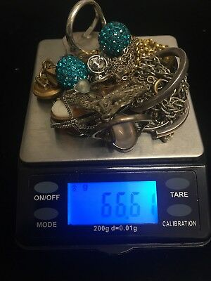 Job Lot of Vintage & Modern Costume Jewellery 925 Sterling Silver & Rolled Gold