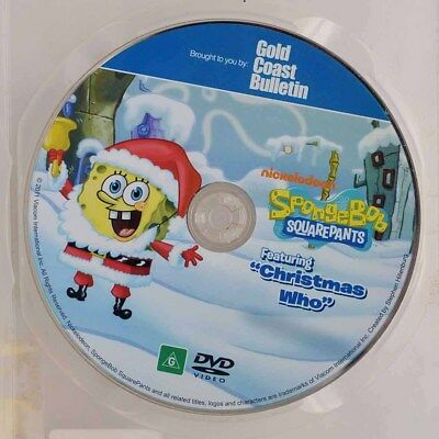CHRISTMAS WHO - SpongeBob Squarepants - Nickelodeon Rated G Region 4 - DVD Only