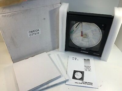 Omega CT7310 2 Pen Circle Chart Recorder