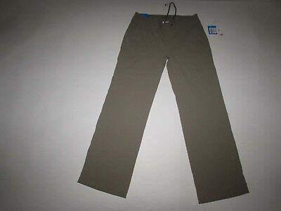 Columbia Women's Anytime Outdoor Full Leg Pants Size 12 Regular NWT Beige 12R