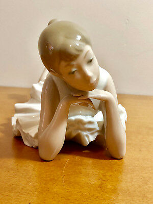 """Nao by Lladro Figurine """"Pensive Ballet"""" # 02010149"""