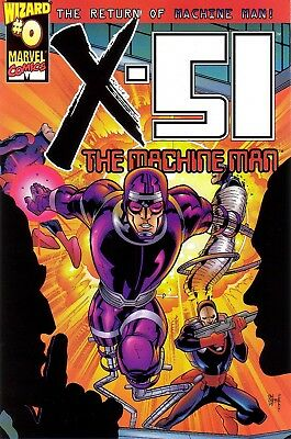 X 51 Return Of Machine Man #0 Wizard Special Promo Comic Book 1999