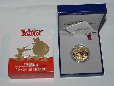 Frankreich 1/2 Oz Asterix Goldmünze 2007 Gold Monnaie de Paris 20 euro France