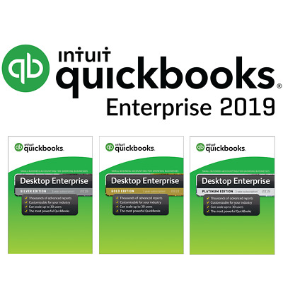 Intuit QuickBooks Enterprise Silver 2019 - 4 user (1-year subscription)