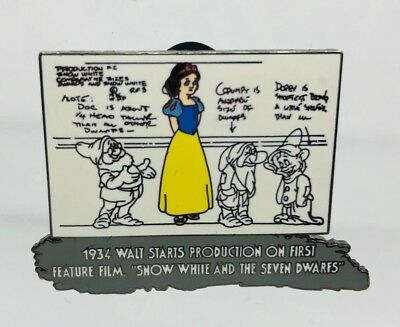 Disney Pin-100 Years of Magic 1934 - Snow White Feature Film- #8 LE 3891 of 5000