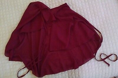 """Ballet Skirt- Wrap around, 20"""" long, adult one size fits all"""