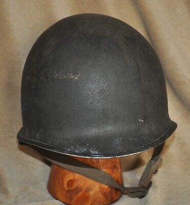 US WWII Front Seam / Fixed Bale M-1 HELMET SHELL