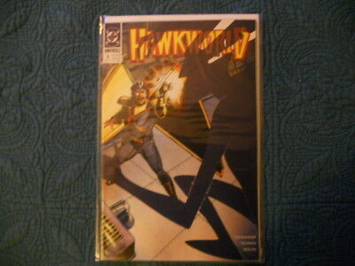 DC Comics; Hawkworld- 'War of the Shadows' #5, Oct '90. Uncert. VF/MN