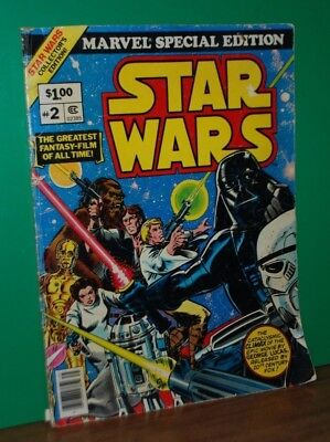 Star Wars #2 (1977) Oversize comic book Marvel Special Edition
