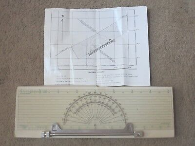 Maritime Nautical Protractor - Paraglide  Protractor-Plotter Model 1451