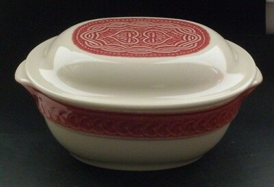 Longaberger American Craft Originals Light Paprika Covered Casserole (30423)