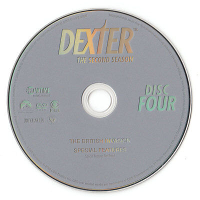 Dexter - The Complete Second Season (DVD, DISC 4, DISC ONLY)