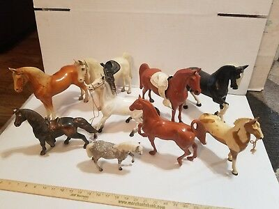 Vintage Breyer Hartland Unmarked TOY Horse Lot