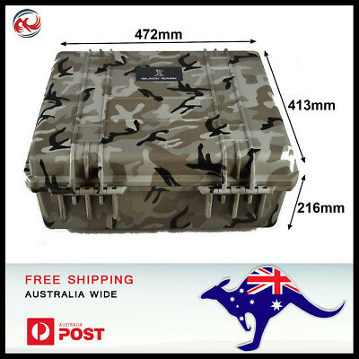 Camoflage tough case, pluck foam dustproof, waterproof BB-2730