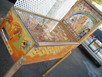 Vintage Bally  Ballerina Pinball Machine  untested