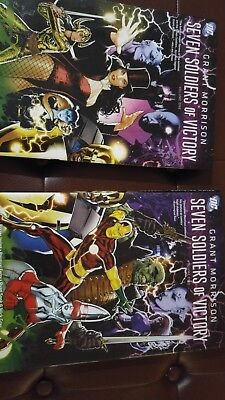 Seven Soldiers of Victory - Grant Morrison - 2 hardcover lot - full run