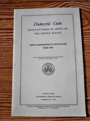 Annual Report of the Director of the Mint 1958 Domestic Coin