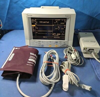 Datascope XG Patient Monitor with Accessories