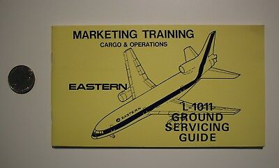 Eastern Airlines L-1011 1972 Ground Servicing Guide Cargo Operations