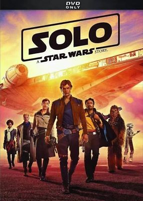 Solo A Star Wars Story Dvd Movie Brand New Sealed Disney Bilingual Han Solo
