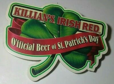 Electric Killians Irish Red Rare Vintage O'fficial Beer of St. Patrick's Day Pin