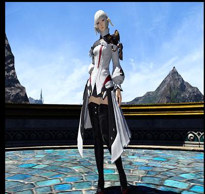FINAL FANTASY XIV FFXIV FF14 Character Papalymo's Attire