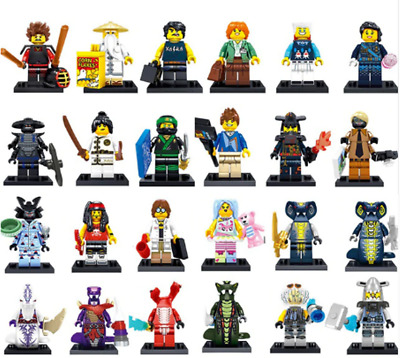 SET NINJAGO FIGURE NINJA Heroes Movie Lord Garmadon Shark  Lego Toys Custom