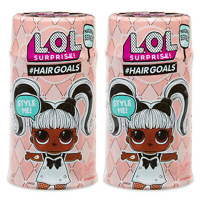 2 - Lol Surprise! Series 5 #hairgoals Makeover Series! Authentic Mga - Preorder
