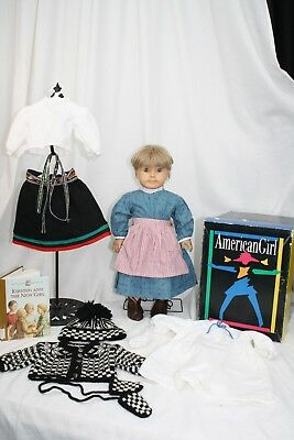 """American Girl Kirsten Larson 18"""" Doll, + Lot of Clothes"""