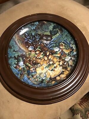 "The Franklin Mint Heirloom St. Catrick's Day 8"" Plate"