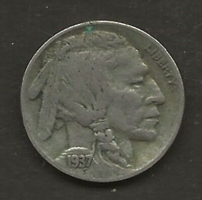 USA    1937  5 cent    USED