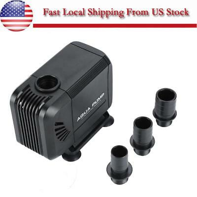 800 GPH Submersible Water Pump Fish Tank Aquarium Pond Hydroponics Fountain US