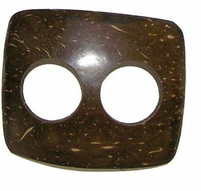 Coconut Shell Scarf or Sarong buckle - various shapes.