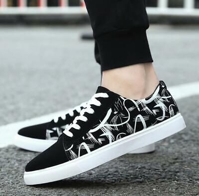 2018 New Men's Shoes Fashion Breathable Casual Canvas Sneakers running Shoes