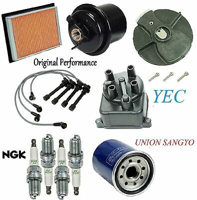 8USAUTO Tune Up Kit Filters Cap Spark Plugs Wire FIT Ford F-150 V8 5.0L; 2 BBL 1977-1978