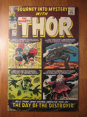 Journey Into Mystery (Thor) #119 1965 (Vg/fn)