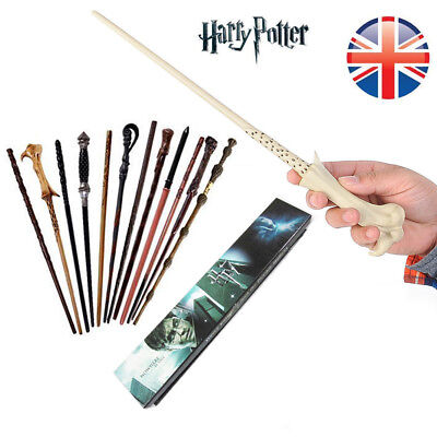 New Harry Potter magic wand Hermione Dumbledore Voldemort Snape Gift box
